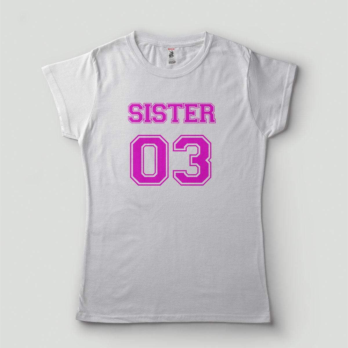 Camiseta feminina Irma 03 Sister Casamento
