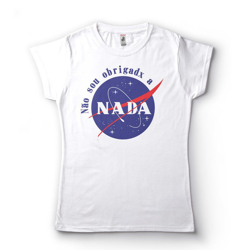 Camiseta Feminina Nao Sou Obrigada A Nada Frases Thumblr