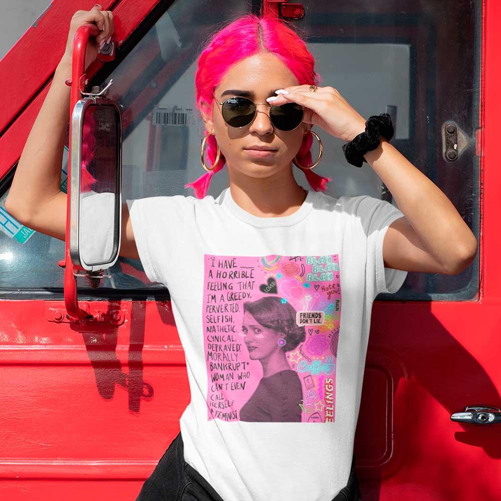 Camiseta Fleabag Blusa Series Phoebe Waller Bridge Feminista