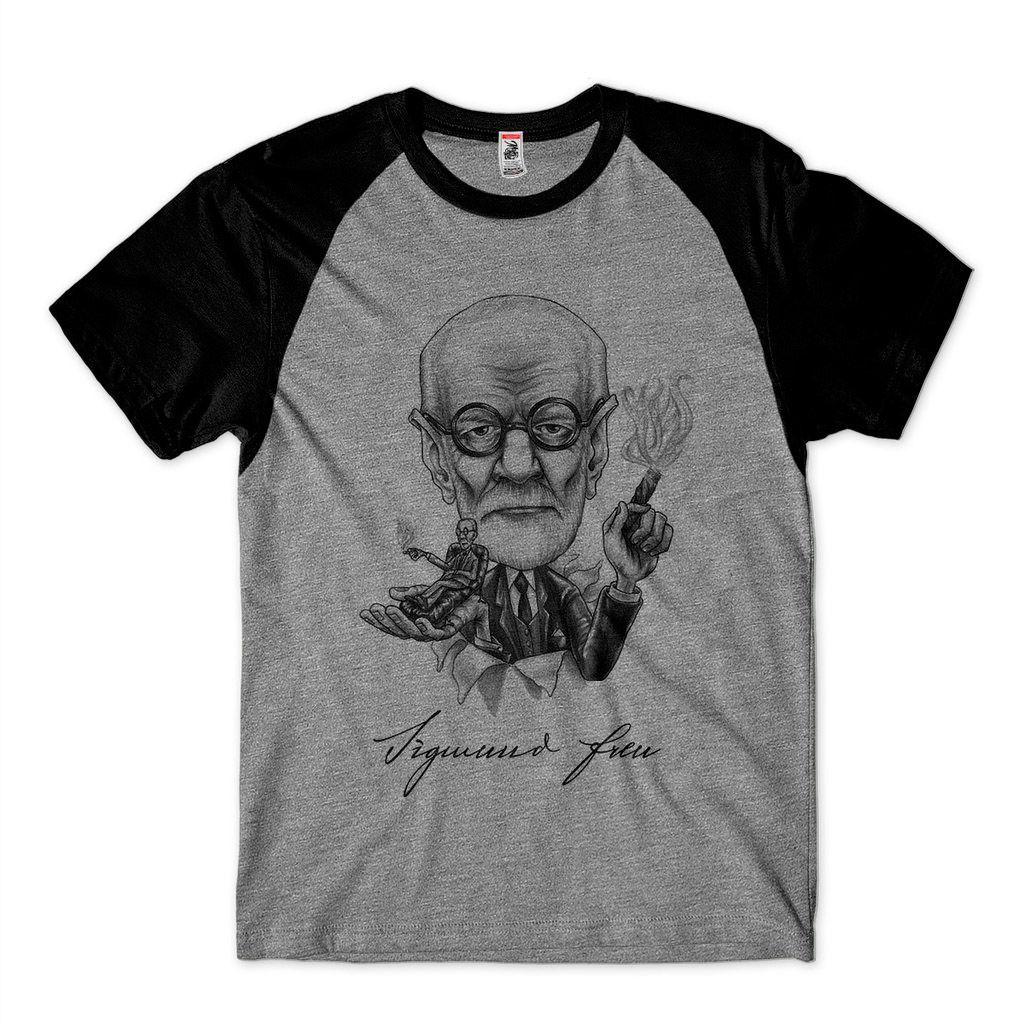 Camiseta Freud Psicologia Autores Genios Psicanálise Blusa