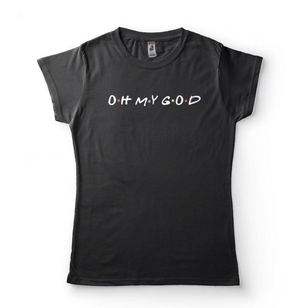camiseta friends seriado janice oh my god feminina