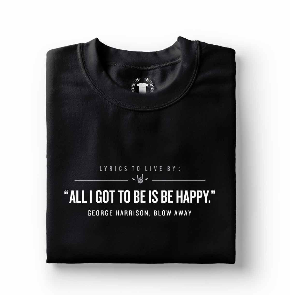 camiseta george harrison blow away