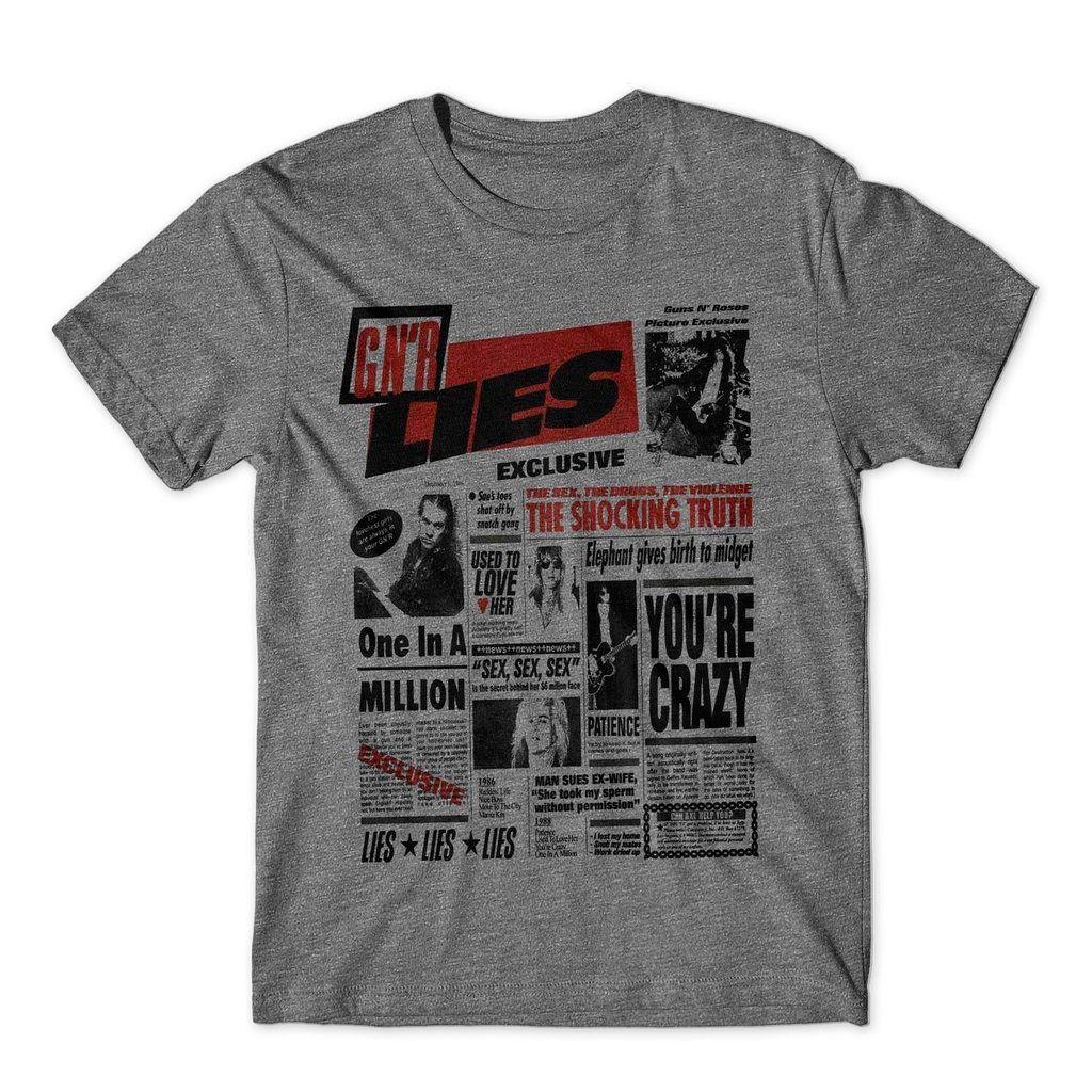 camiseta guns roses masculina bandas rock Camisa Blusa