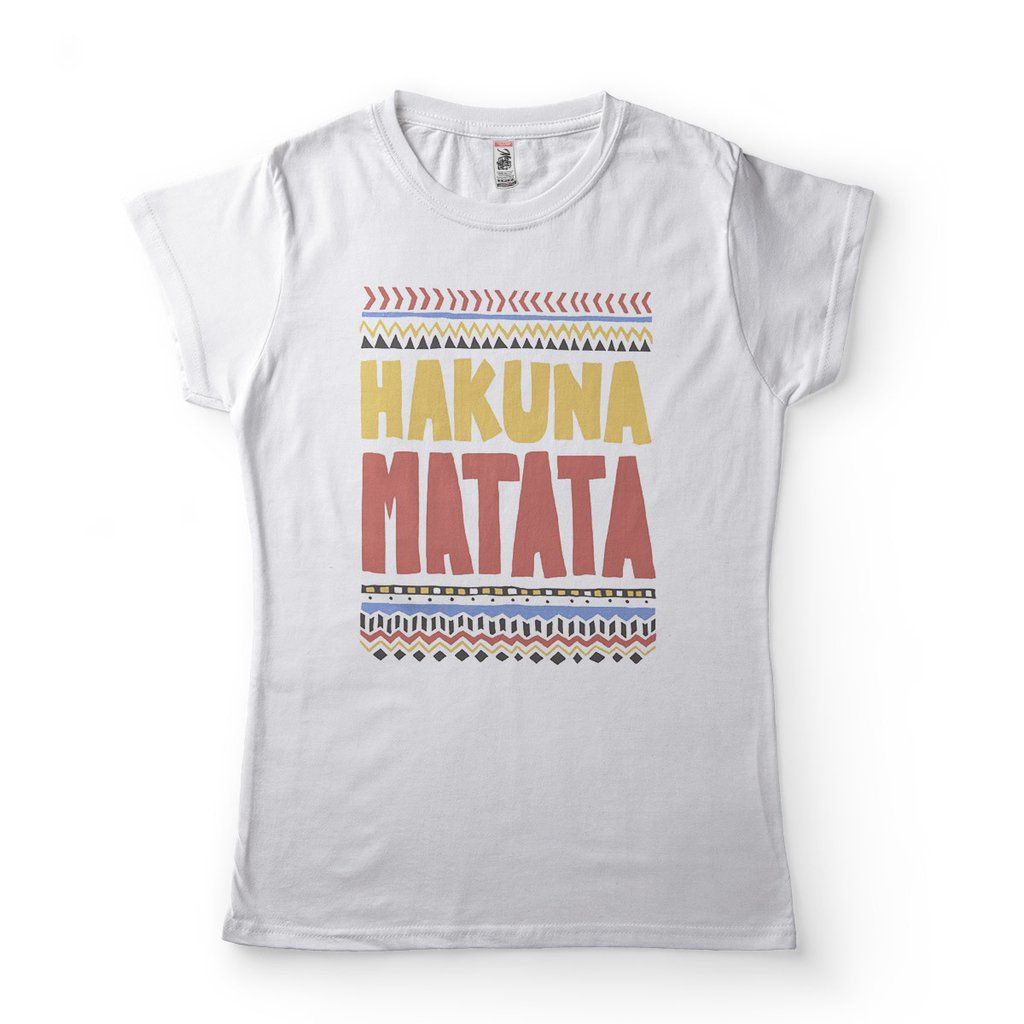 camiseta hakuna matata rei leao feminina disney