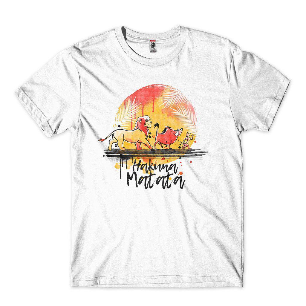 camiseta hakuna matata rei leao timao pumba