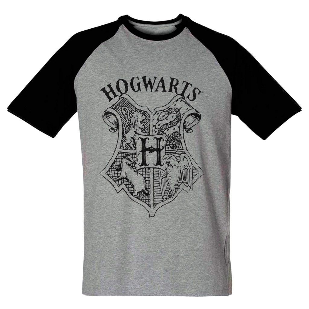 Camiseta Harry Potter Masculina Hogwarts Filme Classico