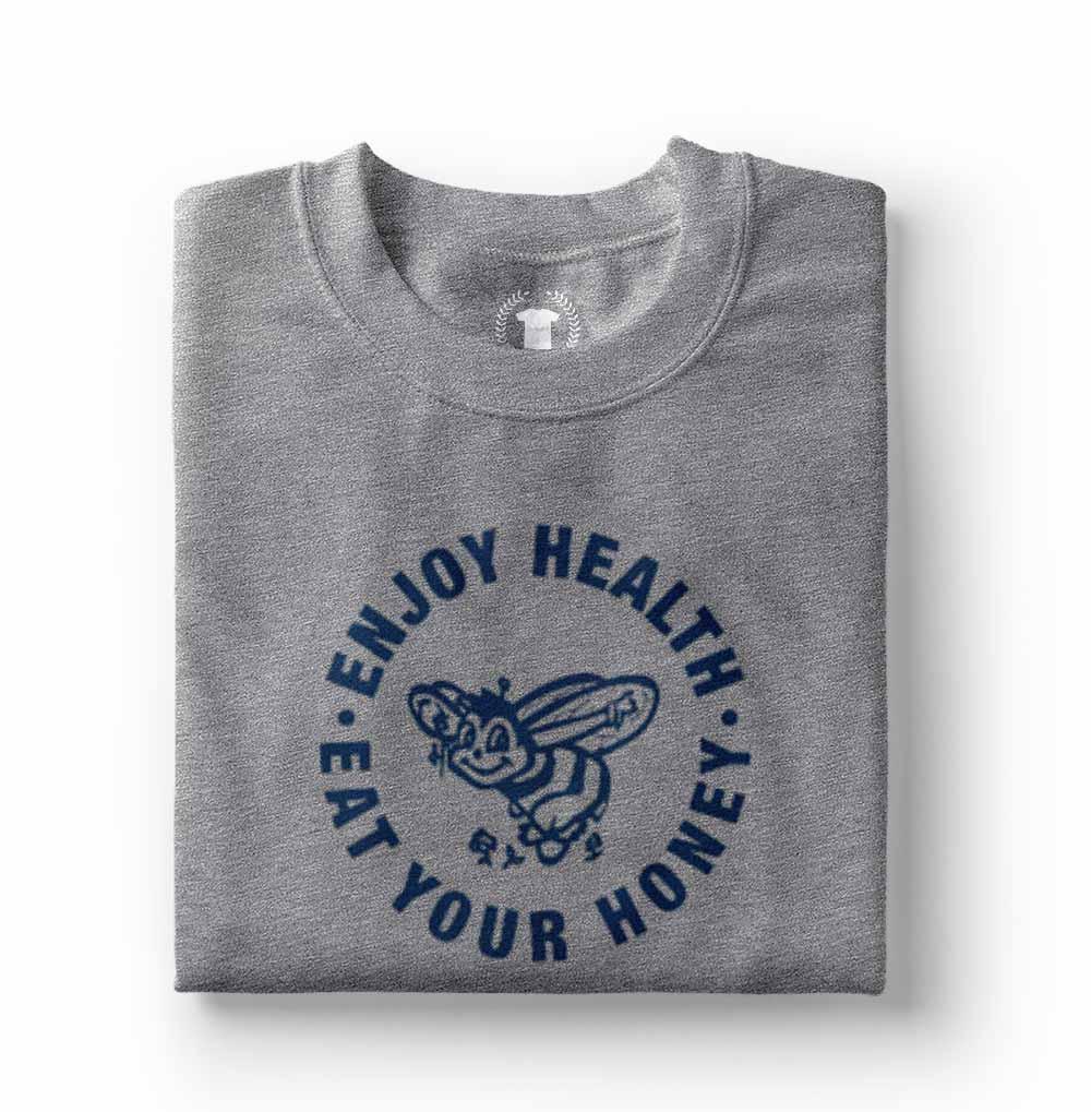 Camiseta Harry Styles ENJOY HEALTH Honey cinza