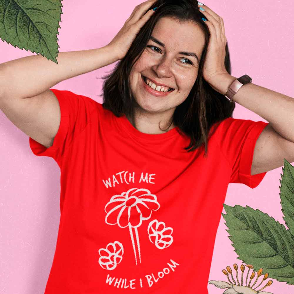 Camiseta Hayley Williams Watch Me While I Bloom