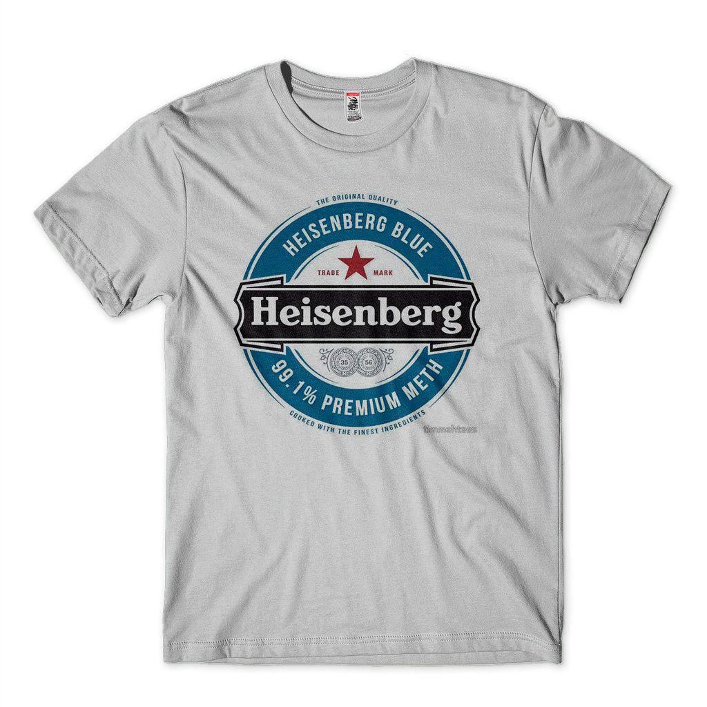 Camiseta Heisenberg  Camisa Breaking Bad Masculina