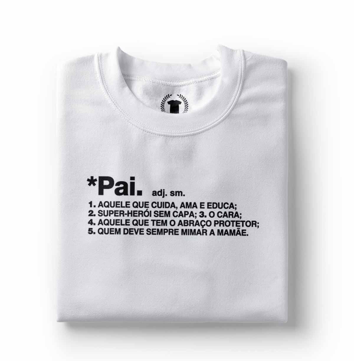 camiseta homenagem para pai definicao