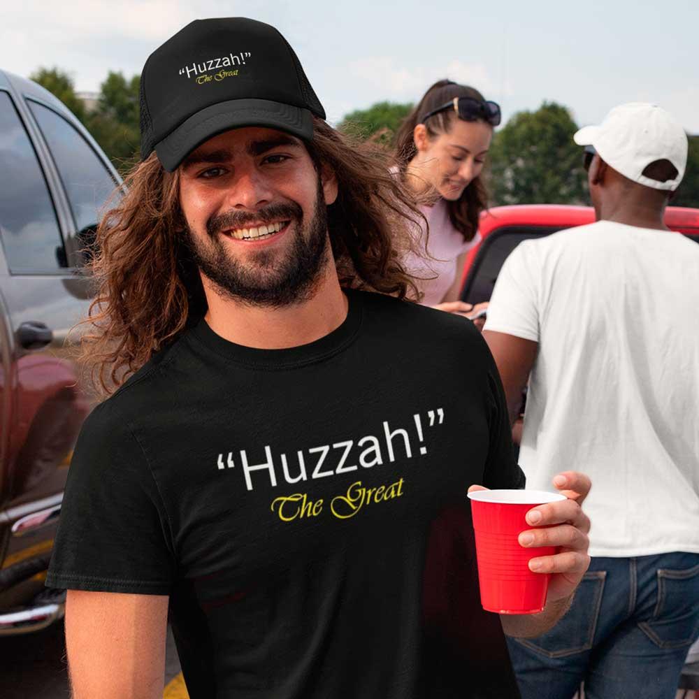 Camiseta Huzzah Serie The Great