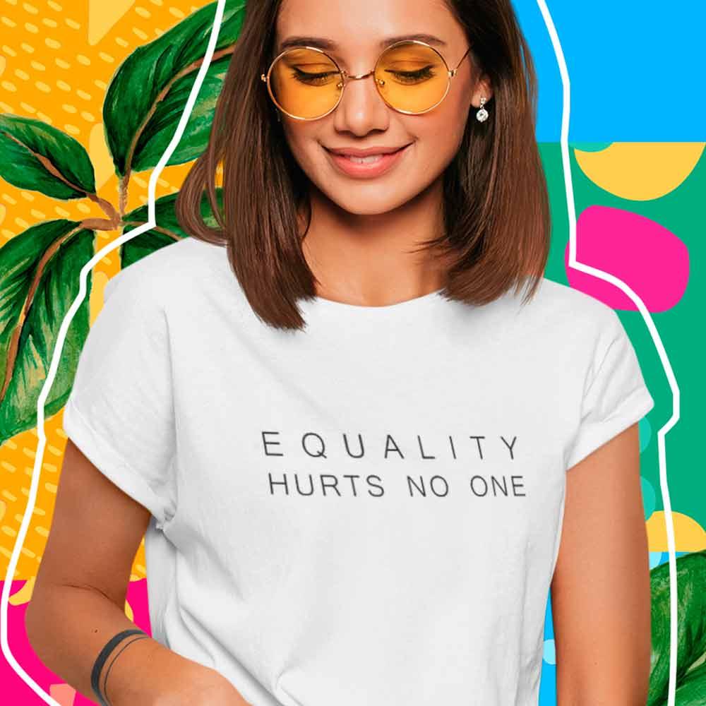 camiseta igualdade e melhor para todos