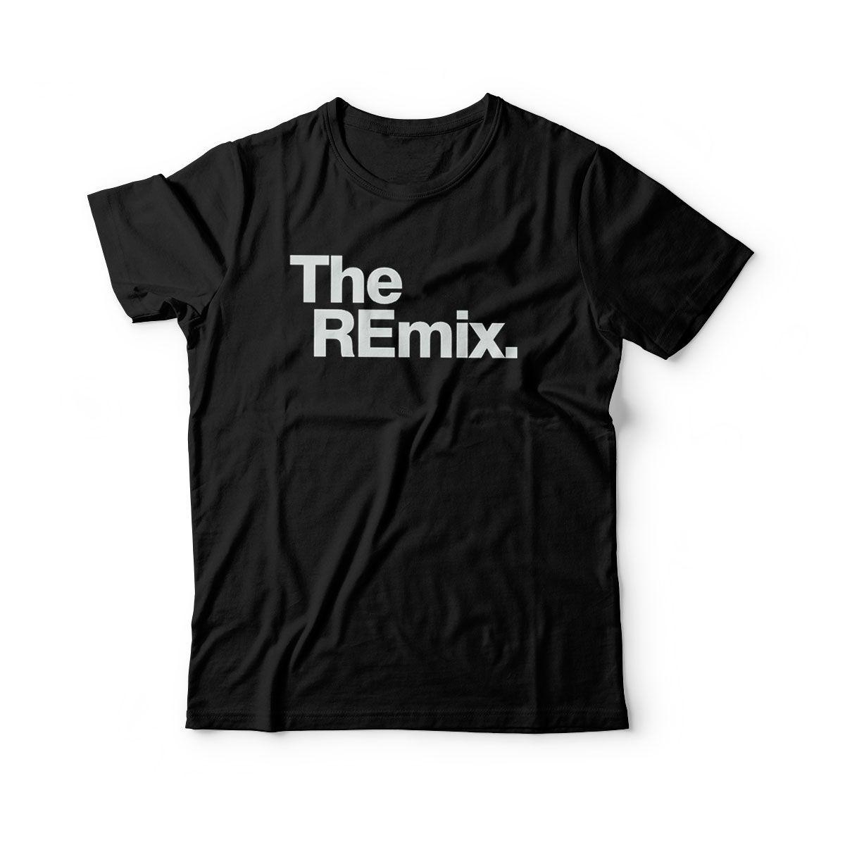 camiseta infantil divertida the remix