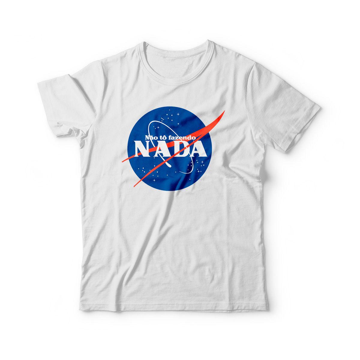 camiseta infantil engracada nao to fazendo nada