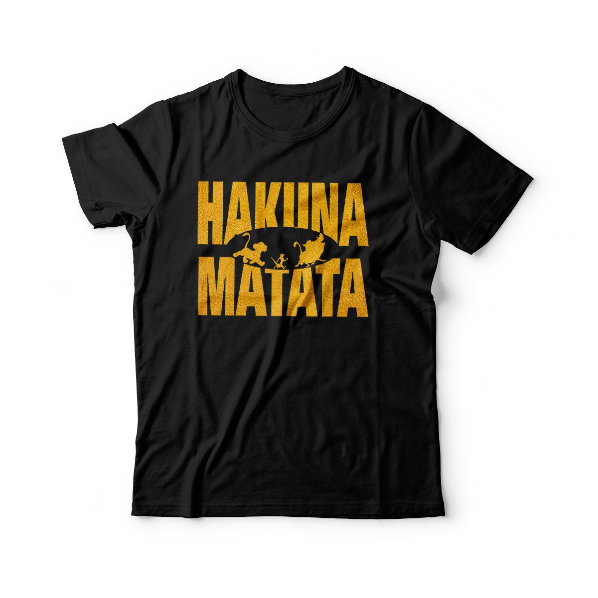 camiseta infantil filmes rei leao hakuna matata