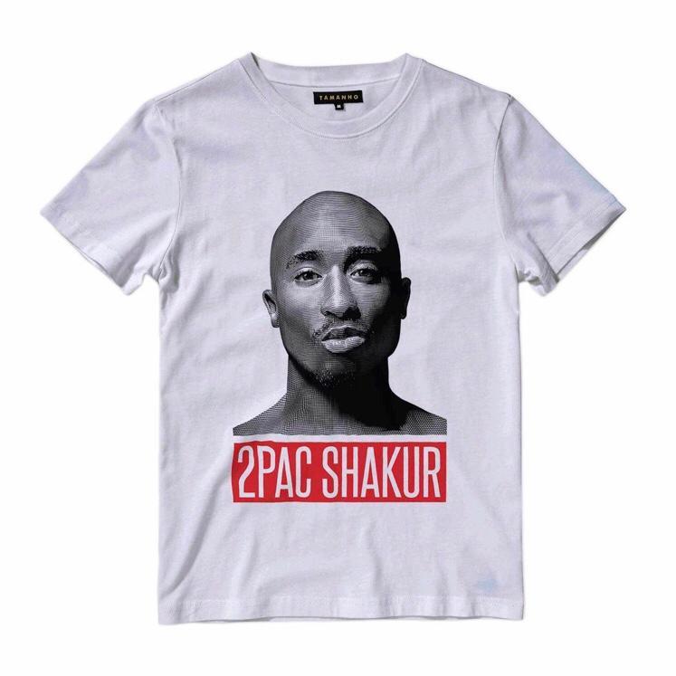 Camiseta infantil Rap Tupac Shakur