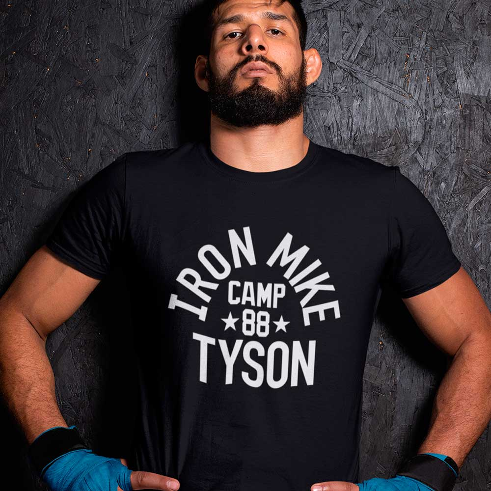 camiseta iron mike tyson camisa lutador de boxe
