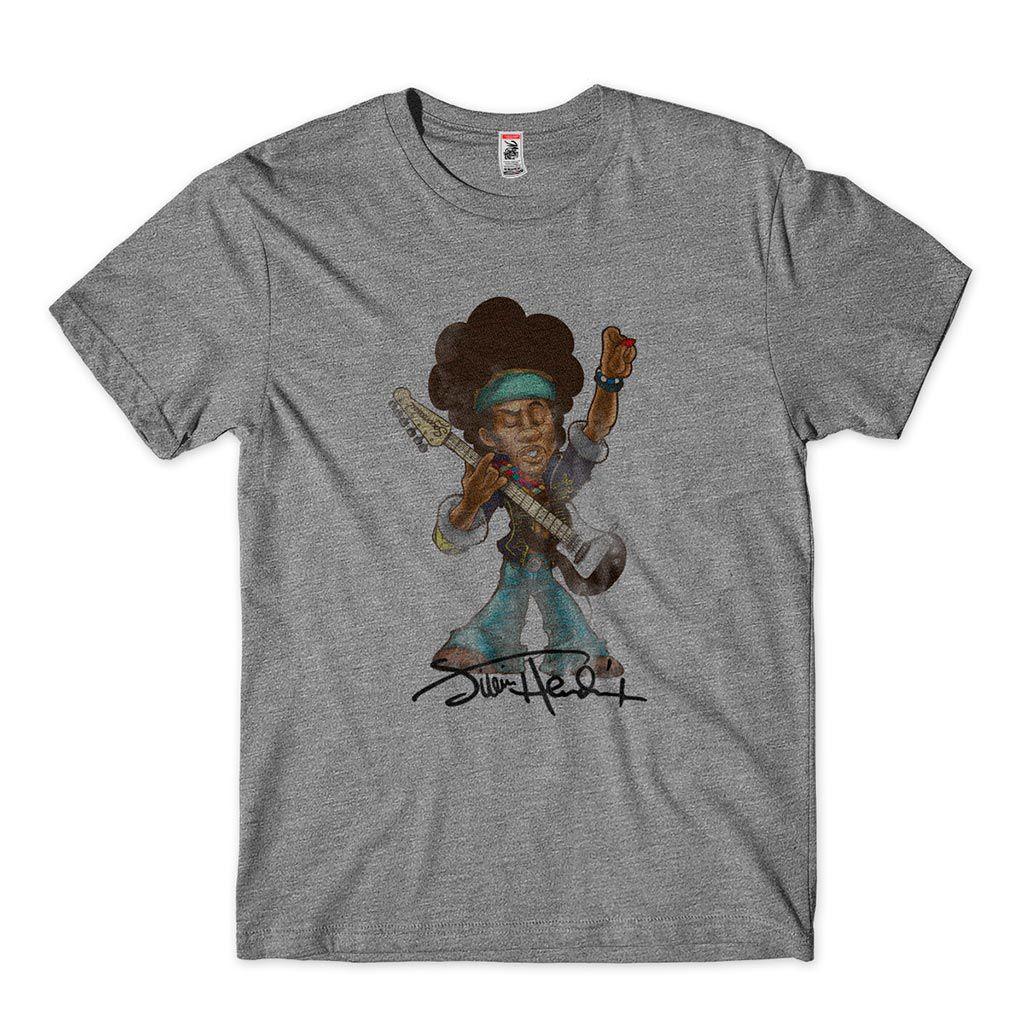 camiseta jimmy hendrix guitarrista rock n roll