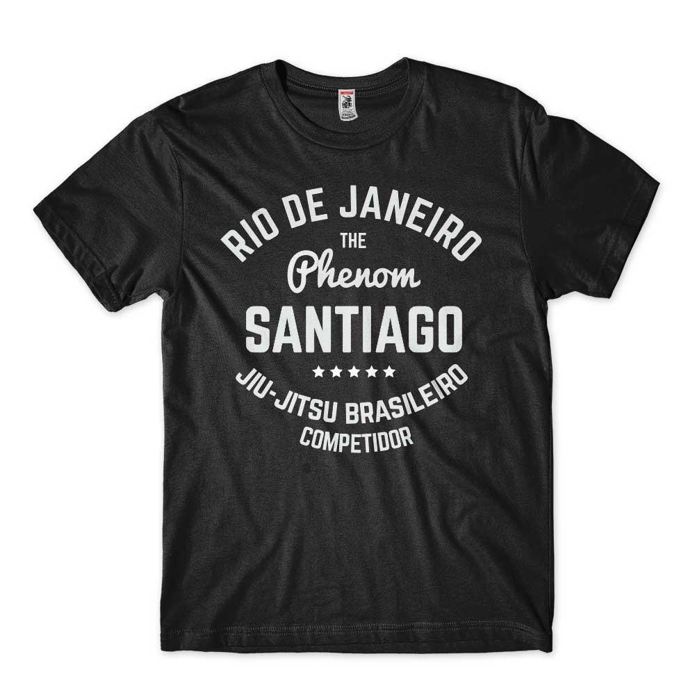 Camiseta jiu jitsu personalizada para competidor