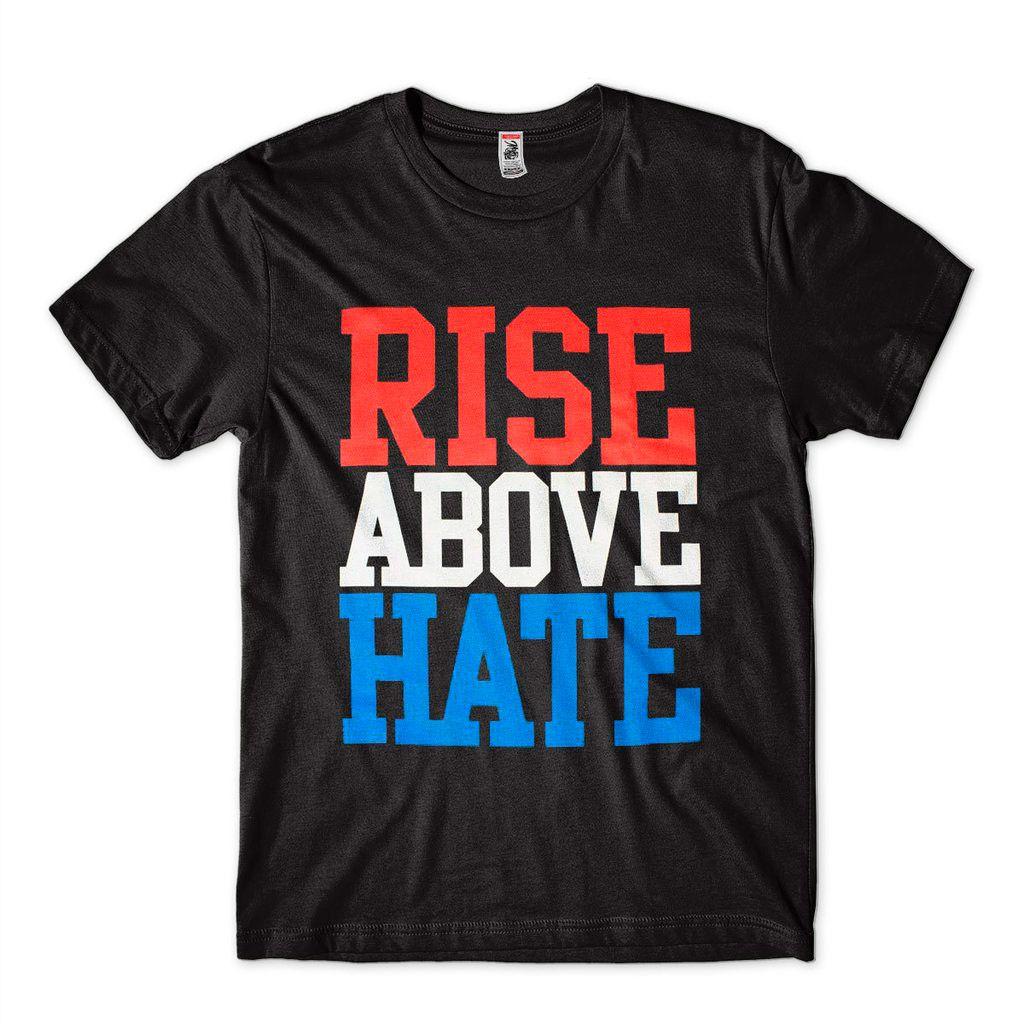 Camiseta John Cena Rise Above Hate Wwe Preta Algodao