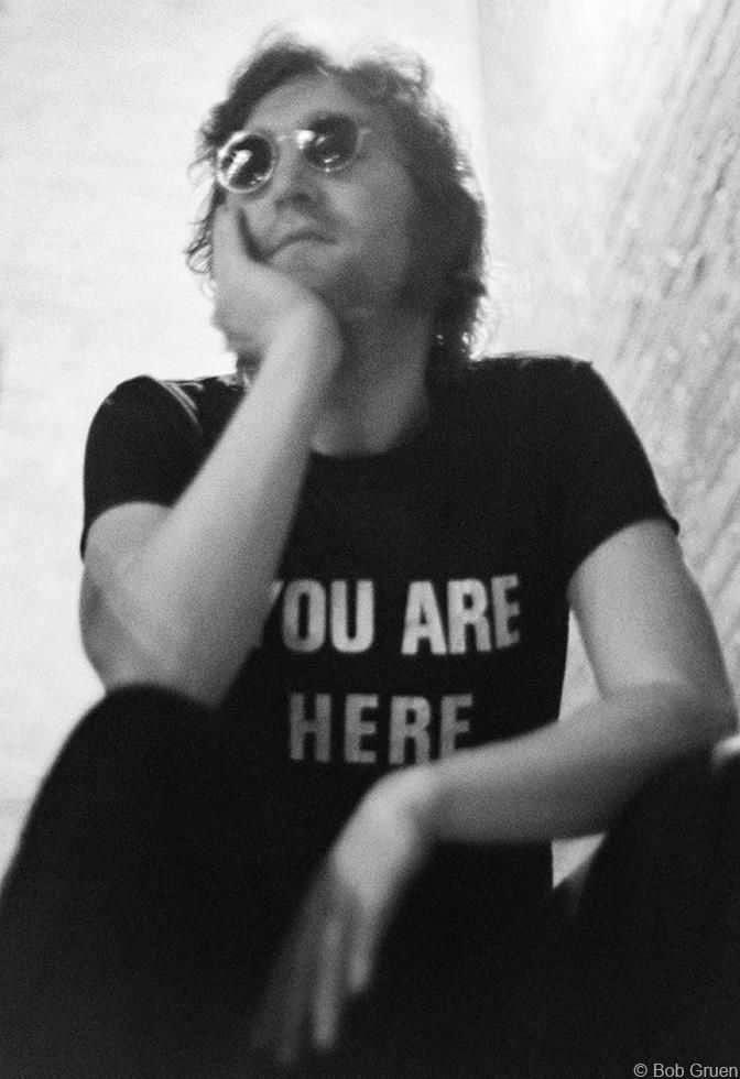 Camiseta John Lennon Beatles You are Here Camisa Masculina
