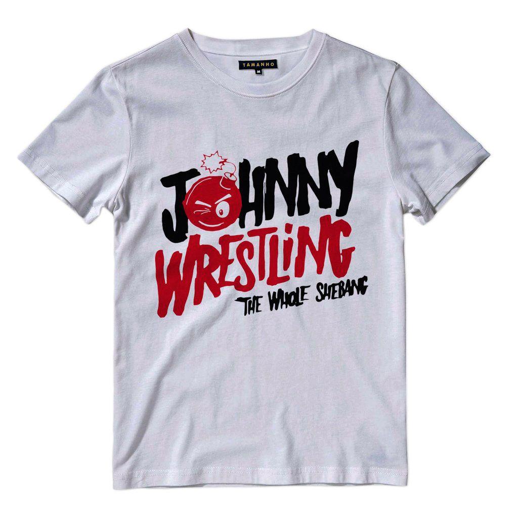 Camiseta Johnny Wrestling Gargano Camisas Blusas Telecatch