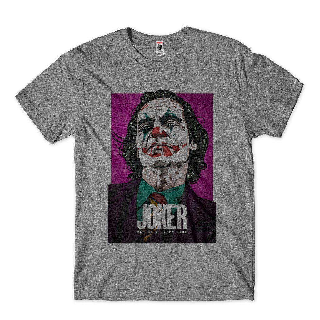 camiseta joker joaquin phoenix masculina