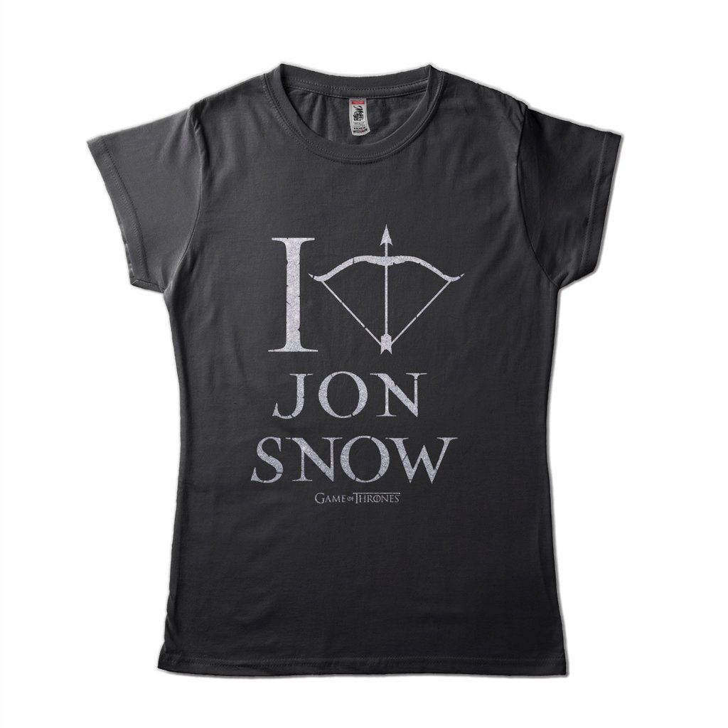 Camiseta Jon Snow Game Of Thrones Camisa Feminina