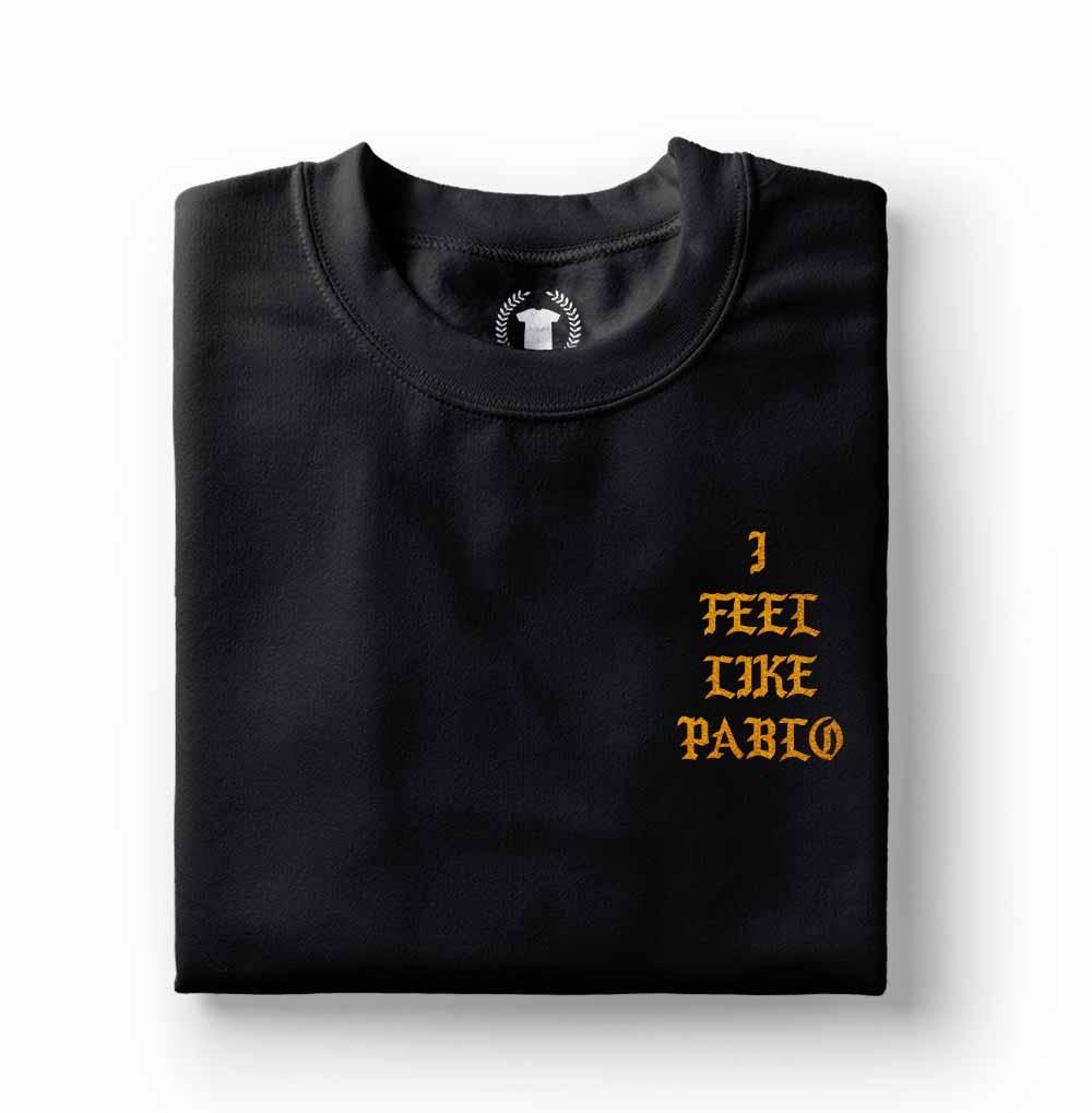 Camiseta Kanye West I Feel Like Pablo preta