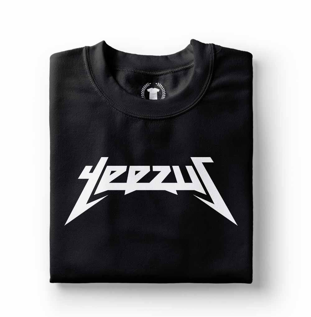 Camiseta Kanye West Yeezus preta
