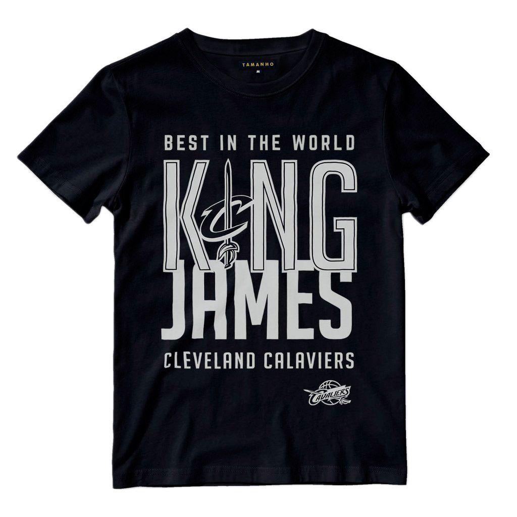Camiseta lebron james cleveland cavaliers MVP preta camisa