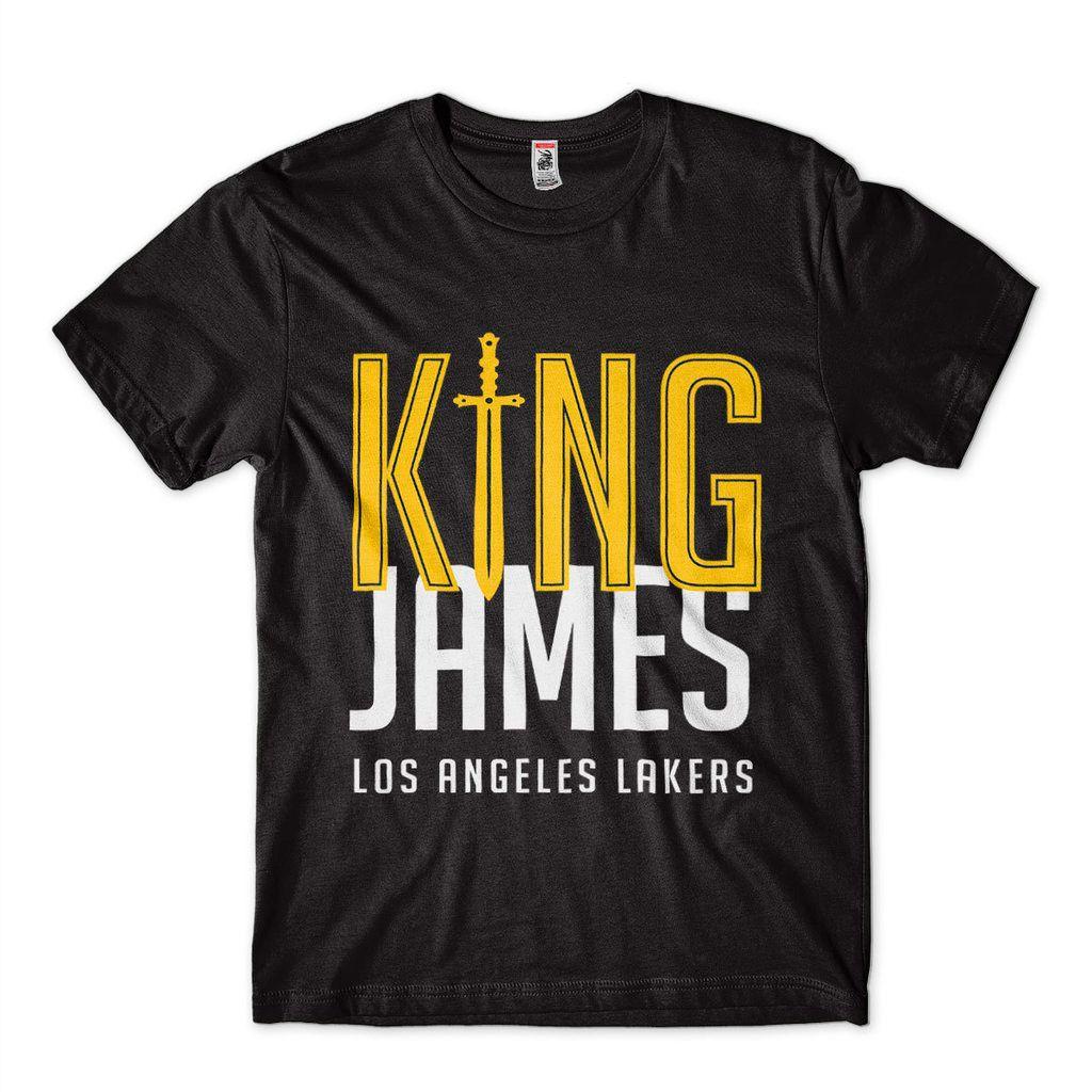 Camiseta lebron james los angeles lakers camisa King NBA