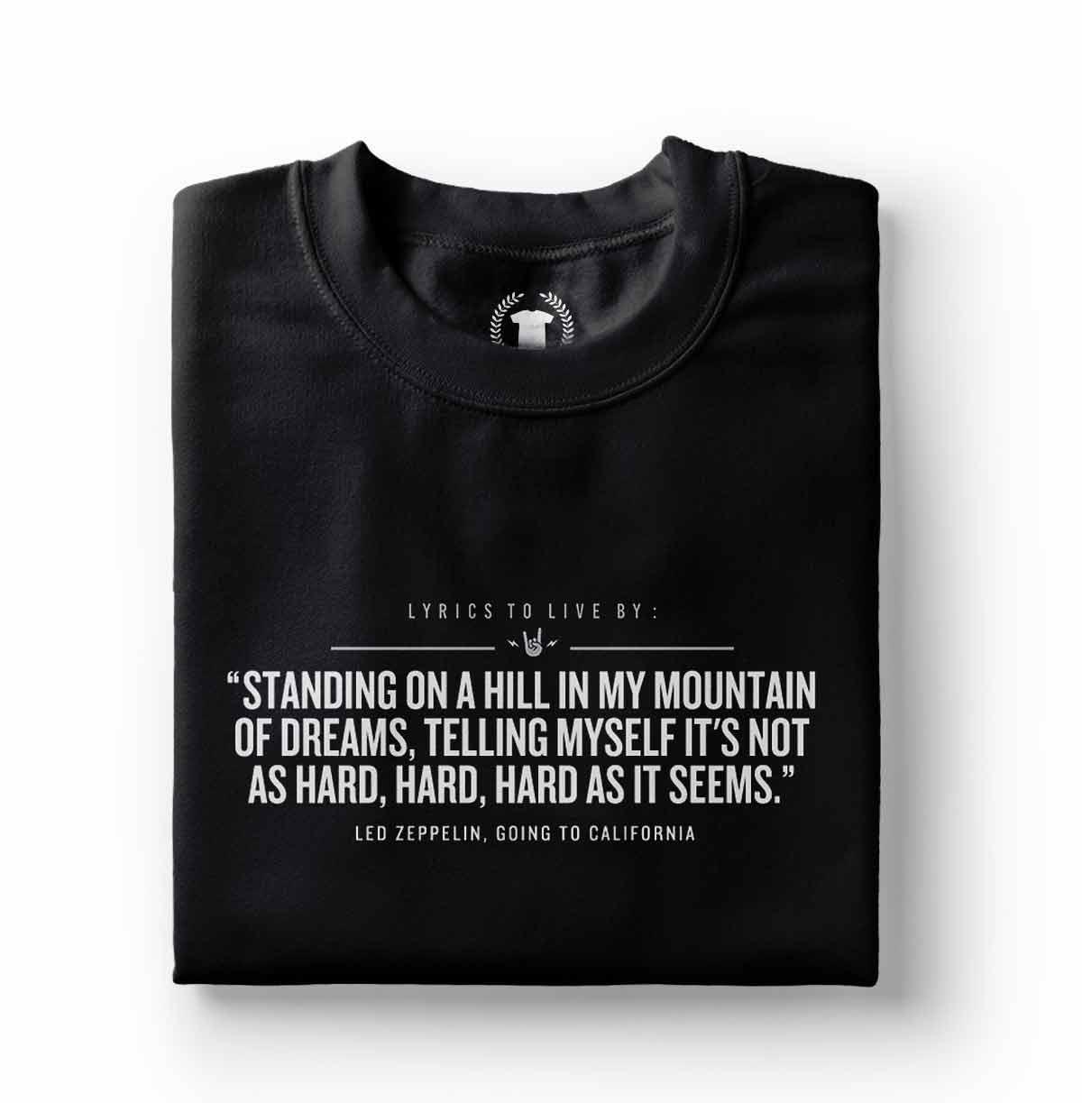 camiseta led zeppelin goin to california