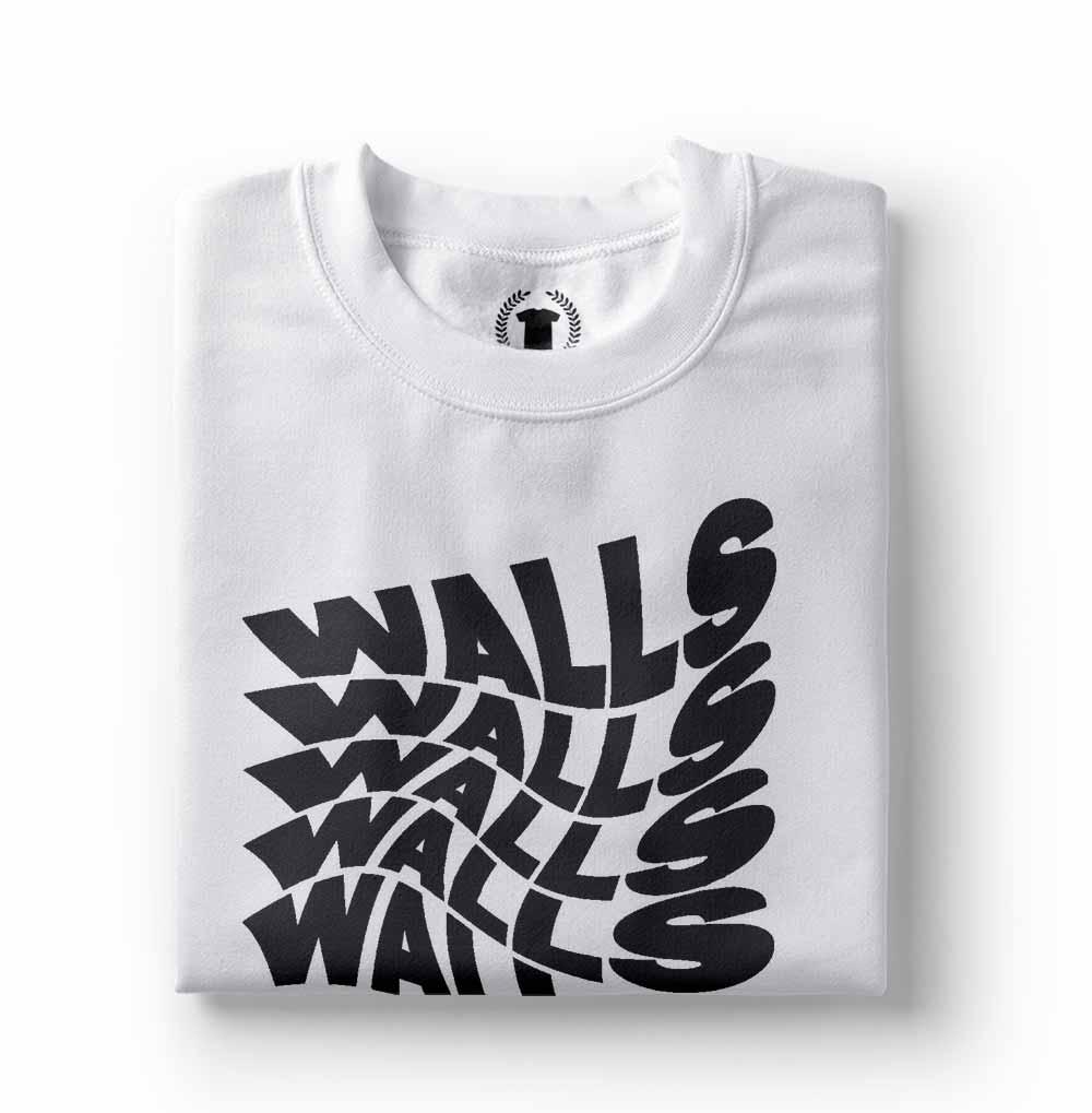 camiseta Louis Tomlinson Walls branca