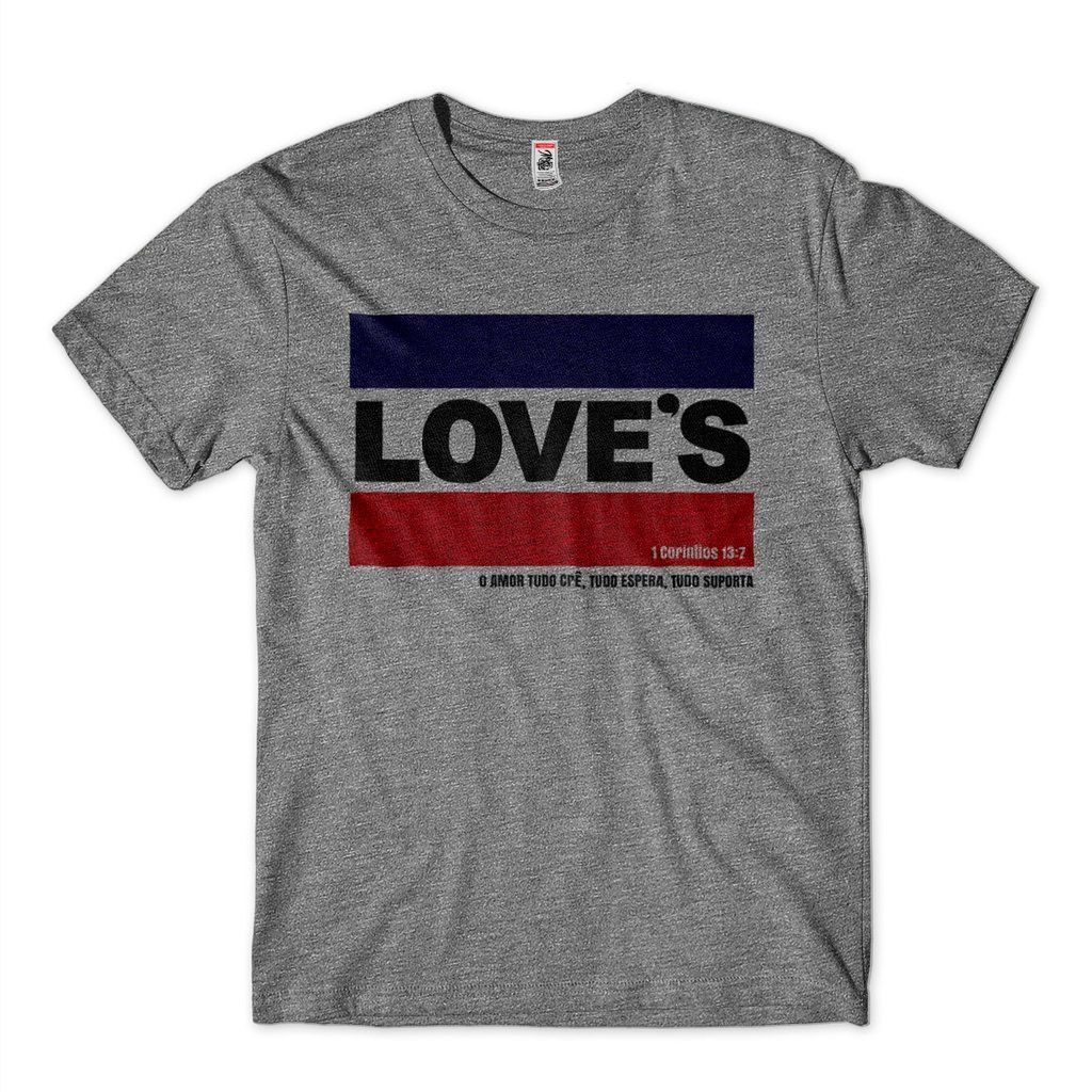 Camiseta Loves Religiosa Masculina Frases Da Biblia