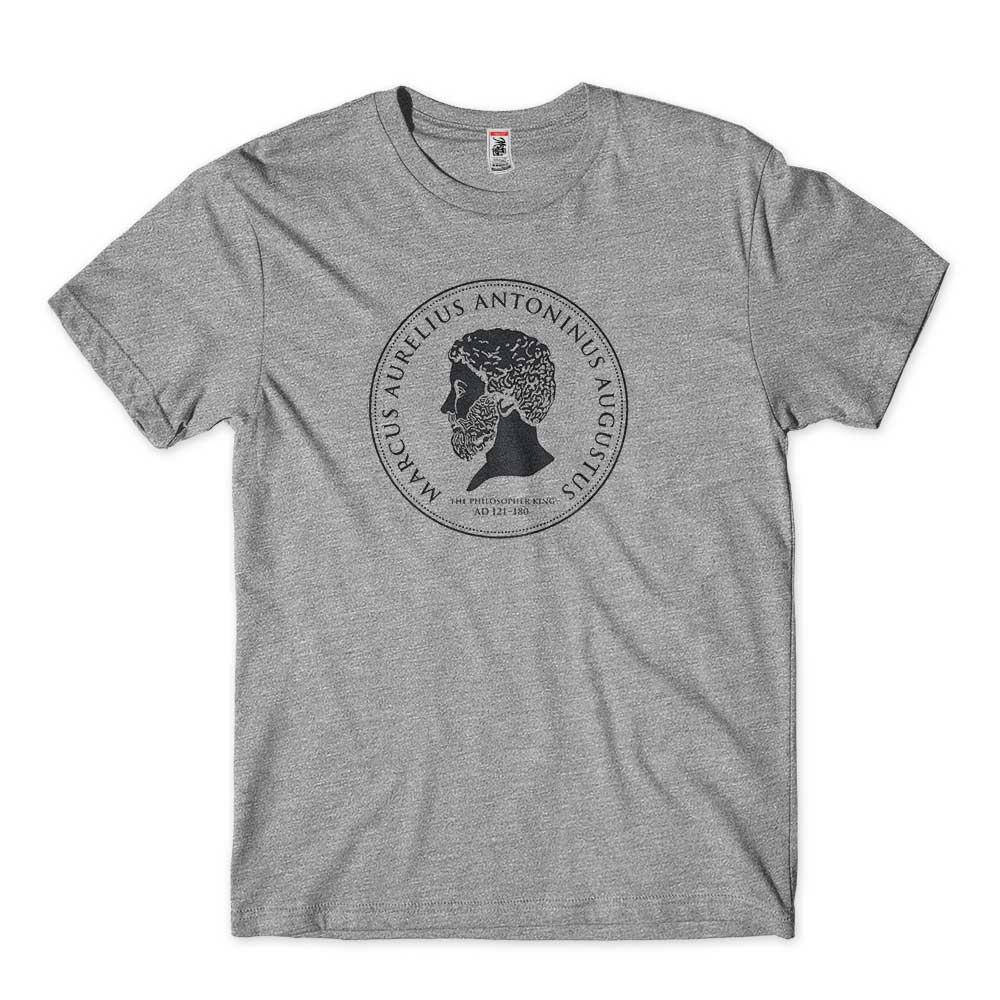 camiseta marco aurelio Masculina tamanho GG