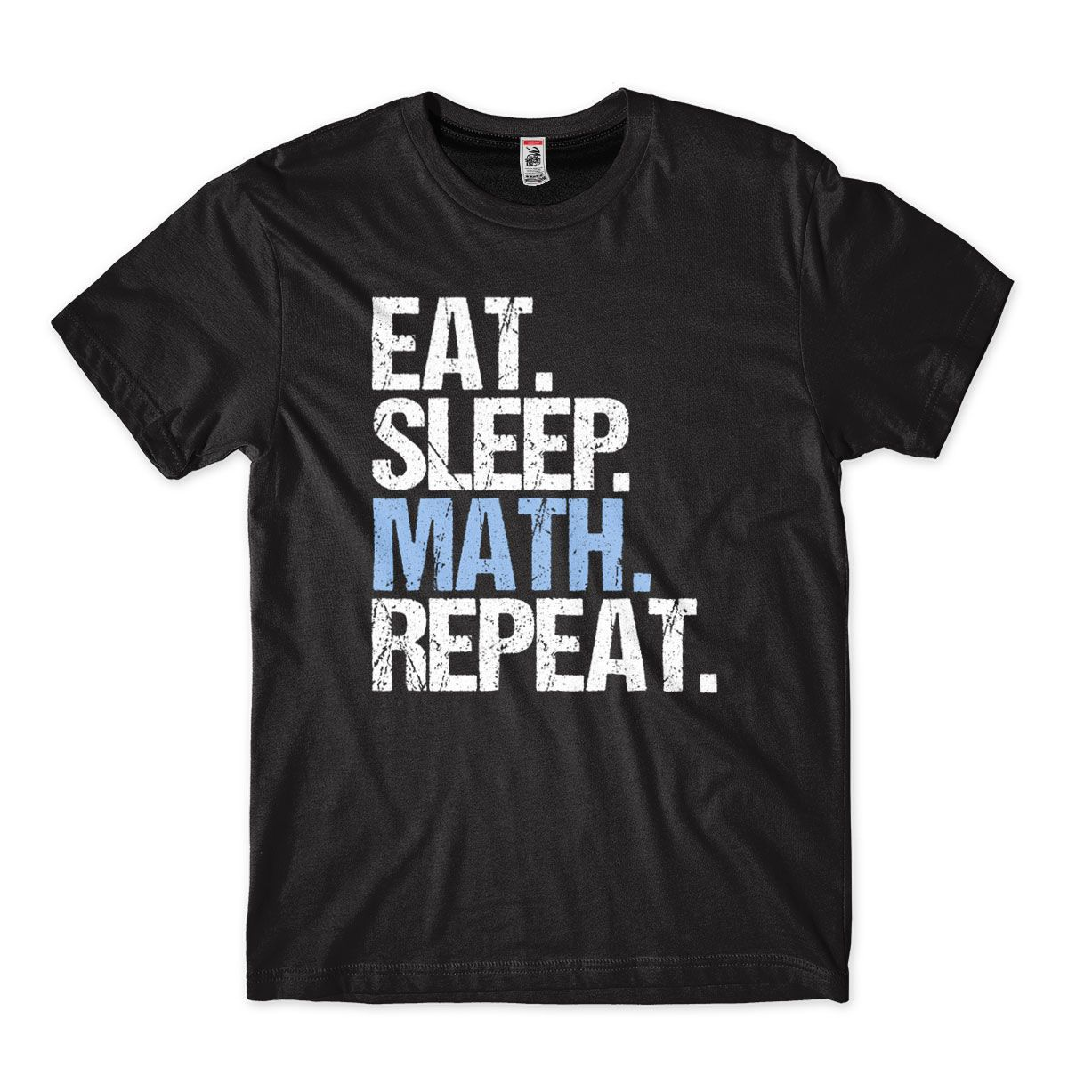 Camiseta Masculina Comer Dormir Matematica Repetir