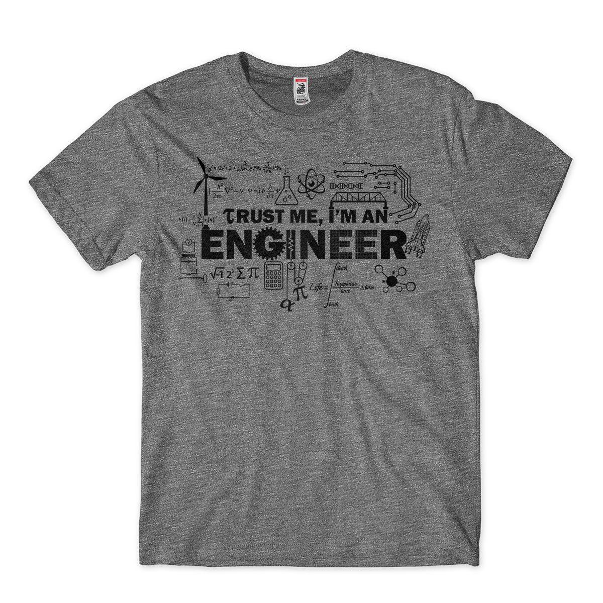 Camiseta Masculina Confie no Engenheiro Engracada
