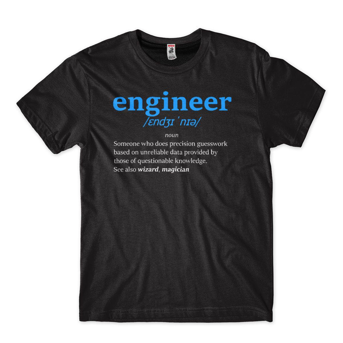 Camiseta Masculina Engenheiro Definicao Mago Magico Engineer