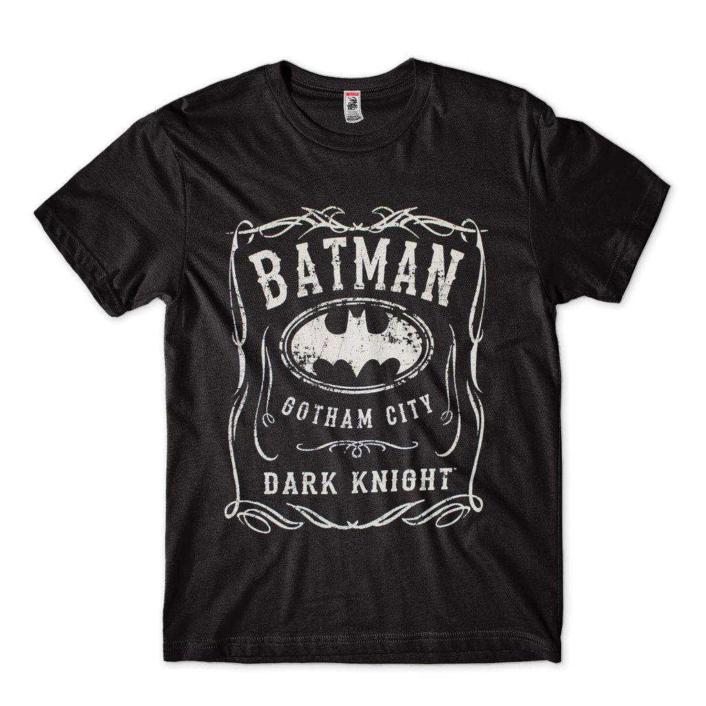 Camiseta Masculina Estampa Super Heroi DC Liga da Justiça Batman T-shirt
