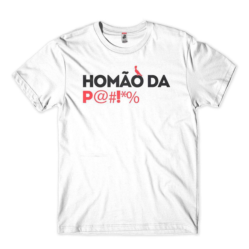 Camiseta Masculina Homao Da Porra Frases Para O Carnaval