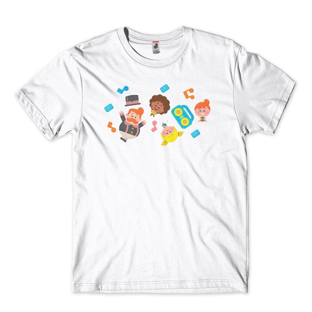 Camiseta Masculina Personalizada Mundo Bita