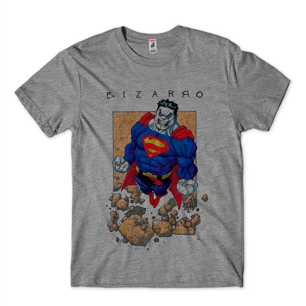 Camiseta Masculina Super Homem Bizarro DC Comics Camisa