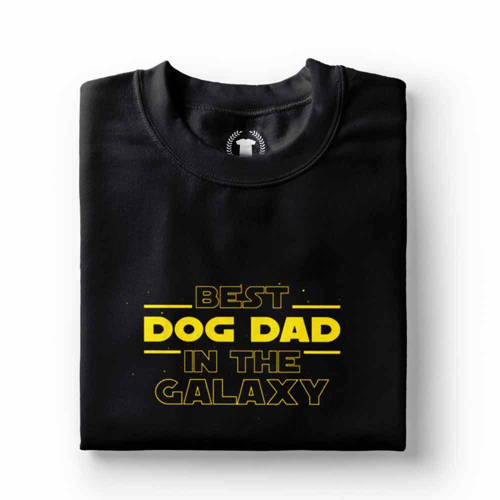 camiseta melhor pai de cachorro da galaxia