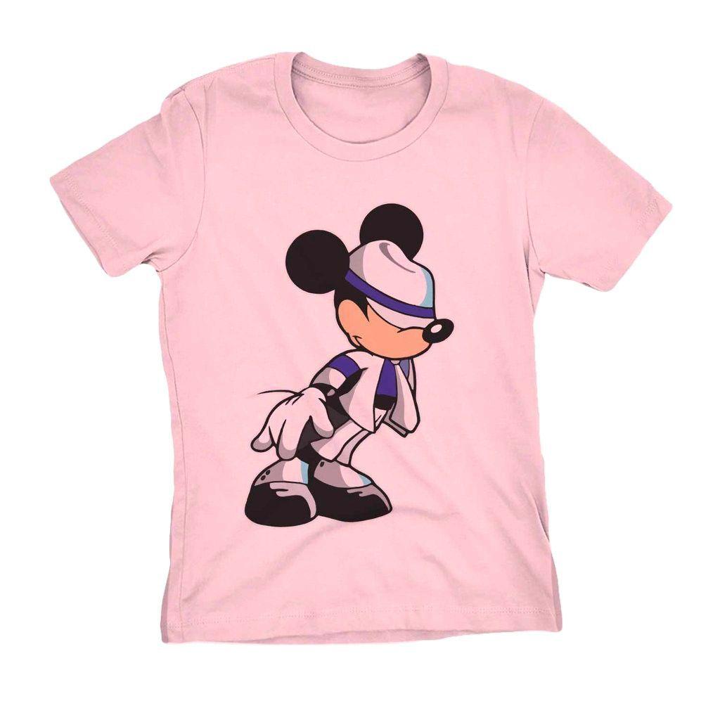 Camiseta Mickey Jackson Estampa Engracada Swag Estilosa