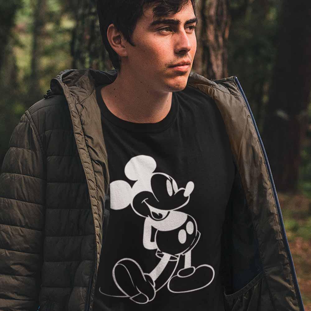 Camiseta Mickey Mouse desenho classico disney
