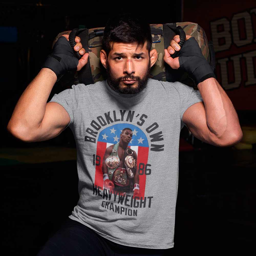 Camiseta Mike Tyson Masculina Camisa Lutador lendas do Boxe