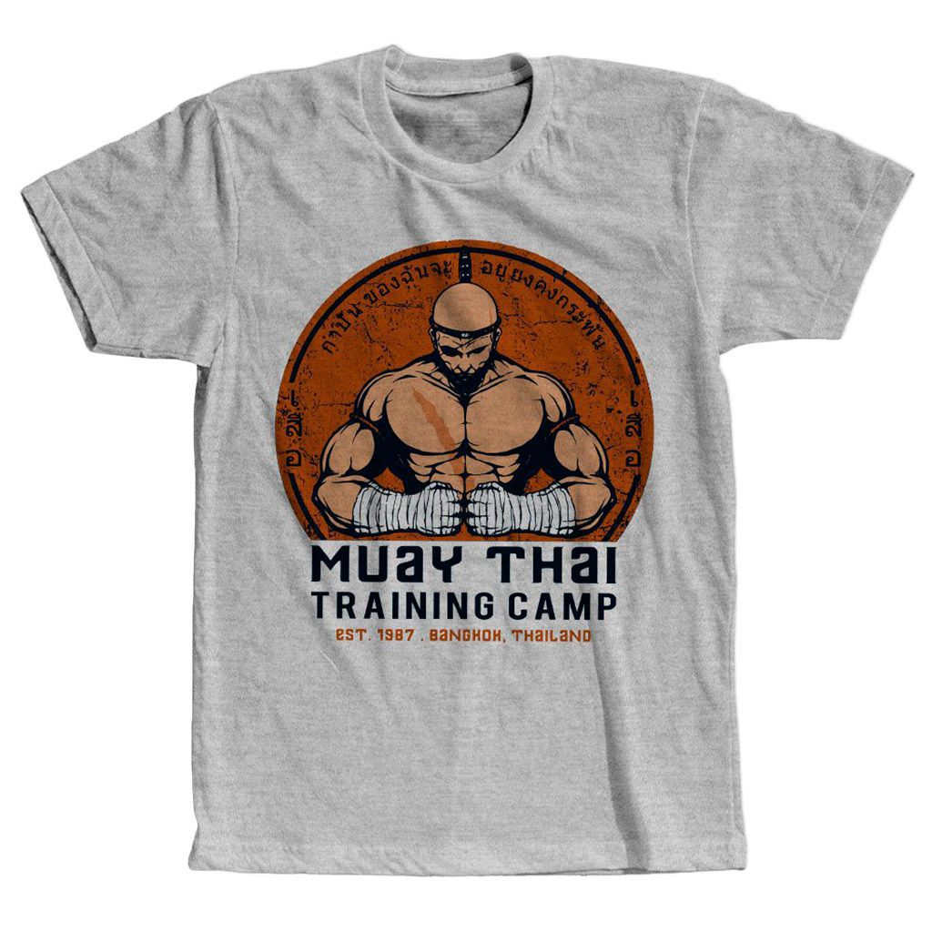 camiseta muay thai competidor masculino camisa para treino