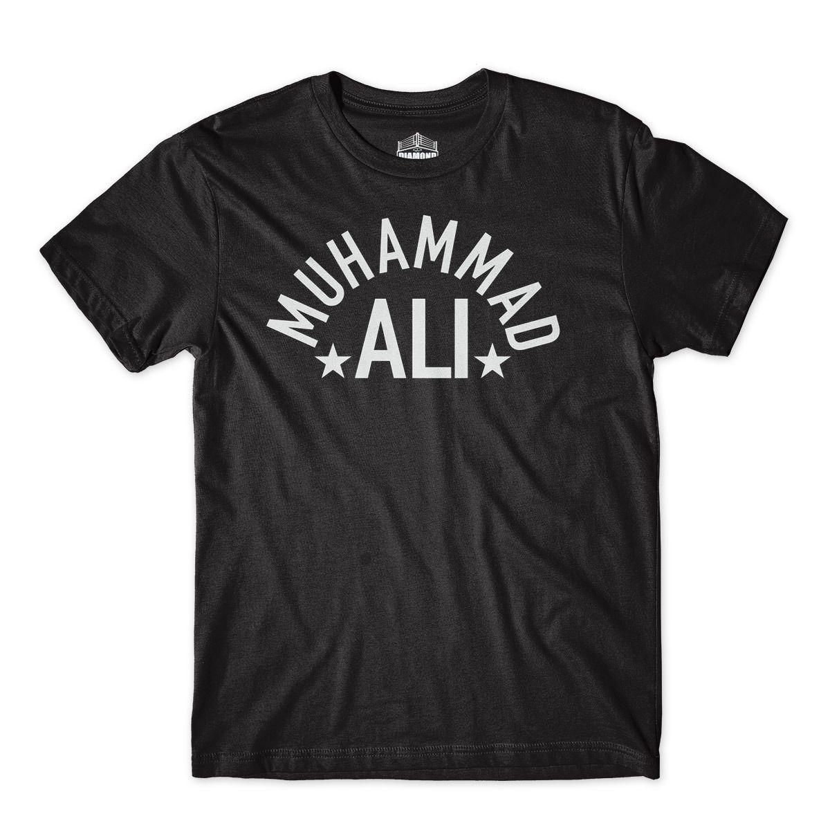 Camiseta muhammad ali Boxe lutador com Etiqueta Personalizada