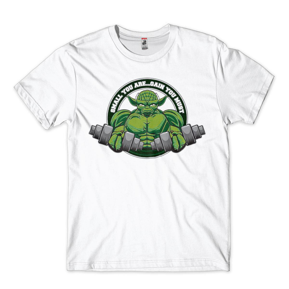camiseta musculacao bodybuilding Mestre Yoda Star War